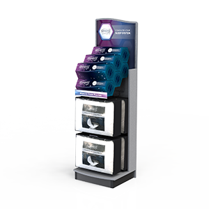 Beauty Rest display marketing fixture